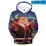 Cute Children Christmas kid Fashion Comfortable 3D Hoodies Christmas Harajuku Autumn boy girl Men women 3D Hooded top Sweatshirt