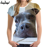 Pitbull Dog Fire Animals Funny Women T-shirt Printed Pictures Streetwear Clothing Hip-Tope Mans T-Shirt