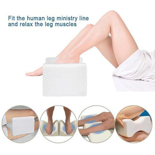 ORTHOPEDIC KNEE PILLOW FOR BACK PAIN SCIATICA RELIEF