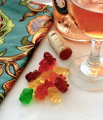 pair wine with candy