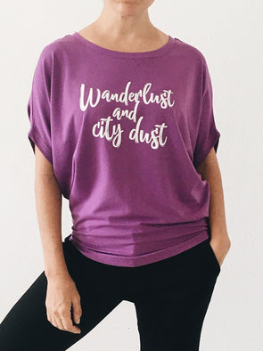 Wanderlust and City Dust Circle Top