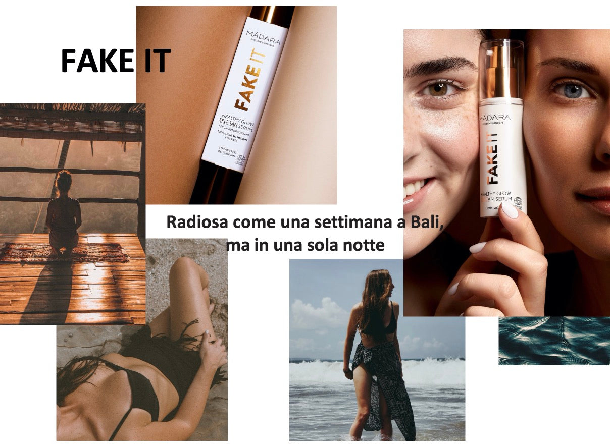 Fake It Healthy Glow Self Tan Serum For Face Madara