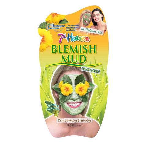 Blemish Clay Mud Mask 7Th Heaven Montagne Jeunesse Maschere Viso