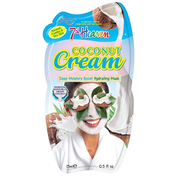 Coconut Cream Mask 7Th Heaven Montagne Jeunesse Maschere Viso