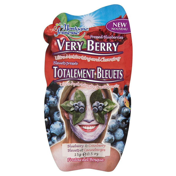 Very Berry Mud Mask 7Th Heaven Montagne Jeunesse Maschere Viso
