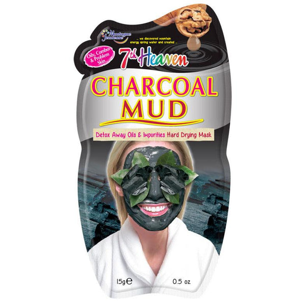 Charcoal Mud Mask 7Th Heaven Montagne Jeunesse Maschere Viso