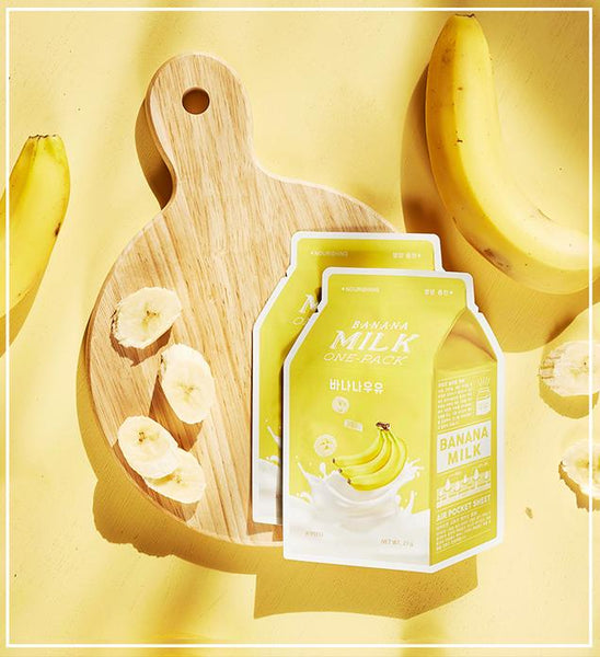 Apieu Banana Milk One Pack Mask Maschere Viso