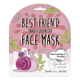 Best Friend Snail Green Tea Face Mask Look at Me