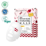 British Rose Hydrating Mask Huangjisoo Maschere Viso