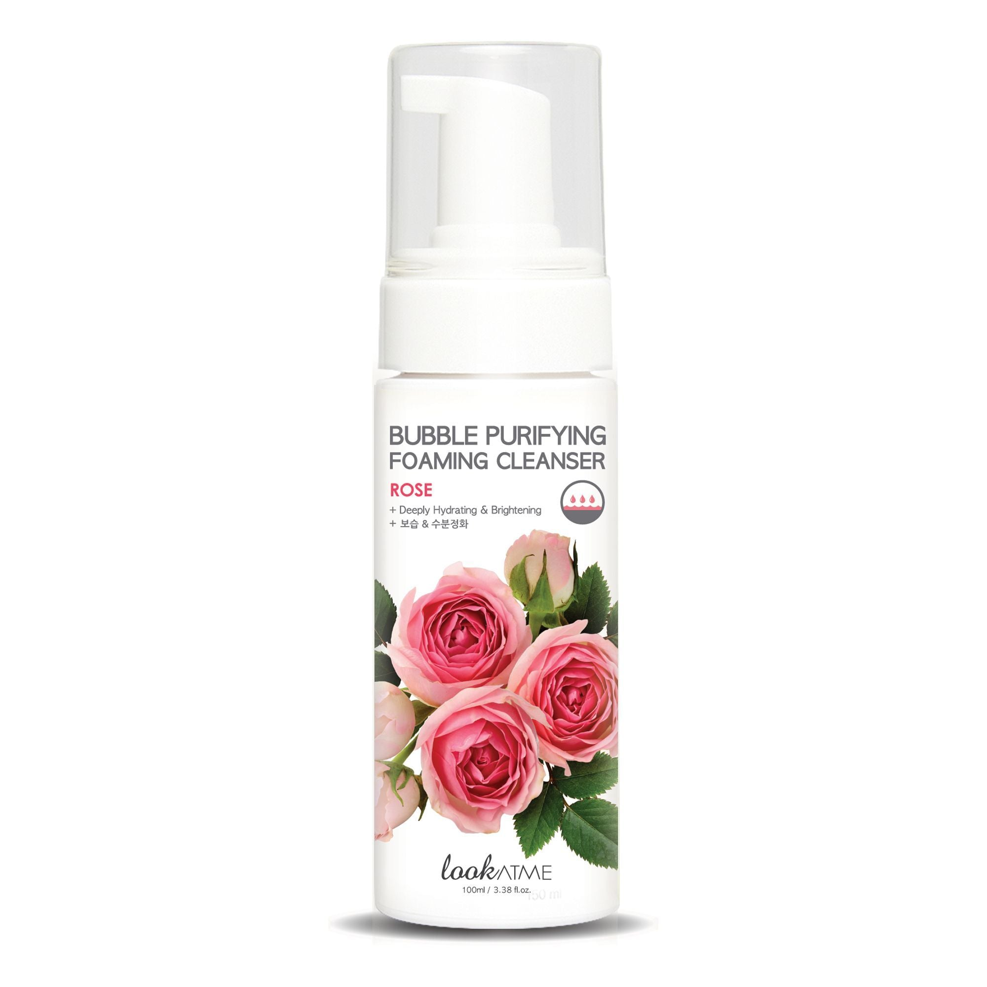 Bubble Purifying Foam Cleanser Rose Look At Me Detergenti & Struccanti