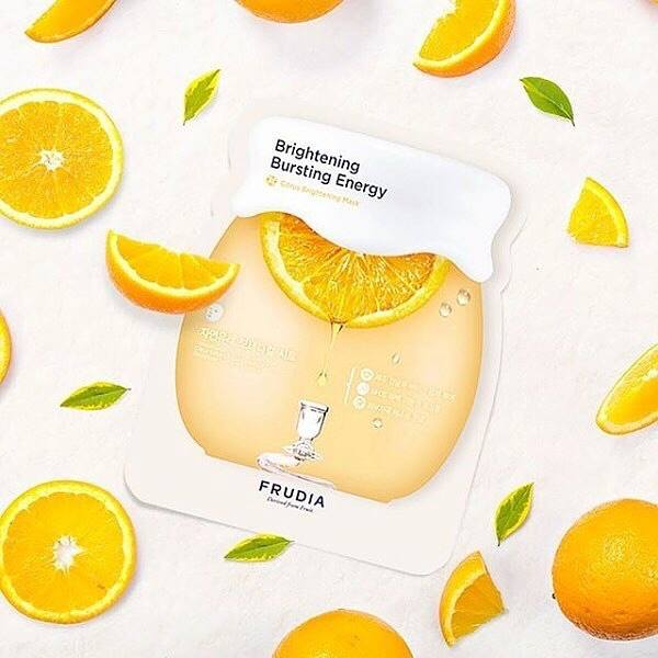 Citrus Brightening Mask Frudia