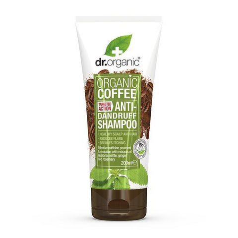 Coffee Mint Anti-Dandruff Shampoo Antiforfora Purificante Dr. Organic