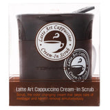 Cream in Scrub Latte Arts Cappuccino Tonymoly
