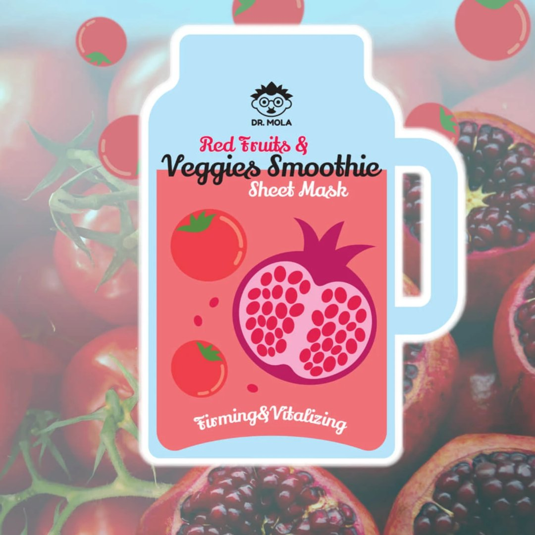 Red Fruits & Veggies Smoothie Dr. Mola