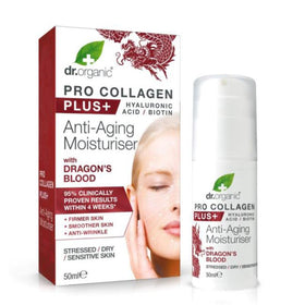 Pro Collagen Plus Dragons Blood Dr. Organic Creme Viso