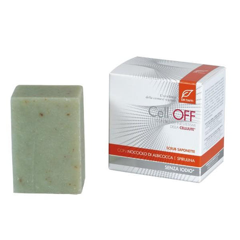 Saponette Scrub Anticellulite e Antiage Cell Off Dr. Taffi