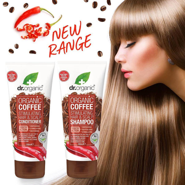 Coffee Stimulating Hair And Scalp Conditioner Balsamo Rinforzante Dr. Organic Balsami & Maschere