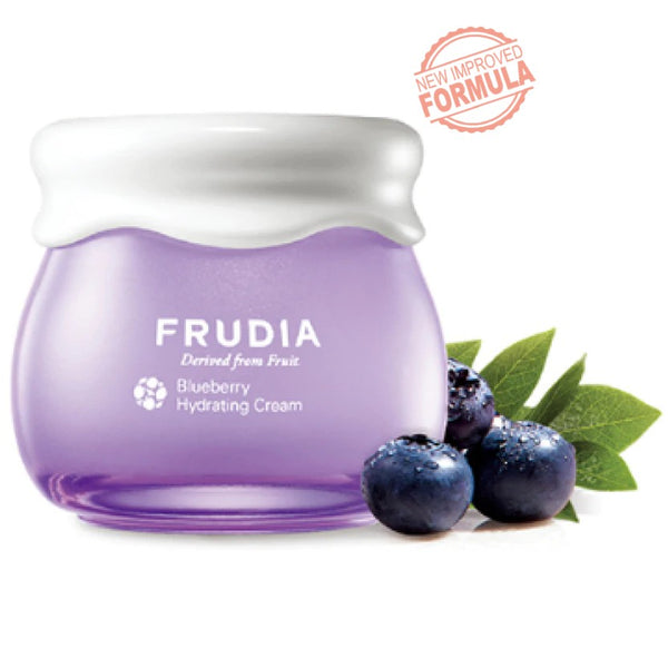 Blueberry Hydrating Intensive Cream Frudia Creme Viso