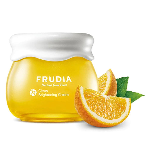 Travel Size Citrus Brightening Cream Frudia Creme Viso