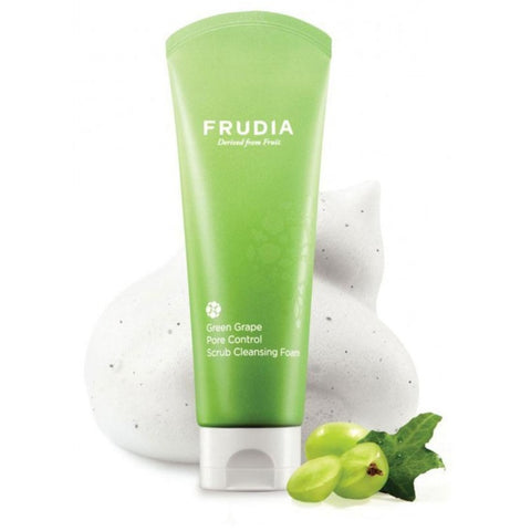 Green Grape Pore Control Scrub Cleansing Foam Frudia Detergenti & Struccanti