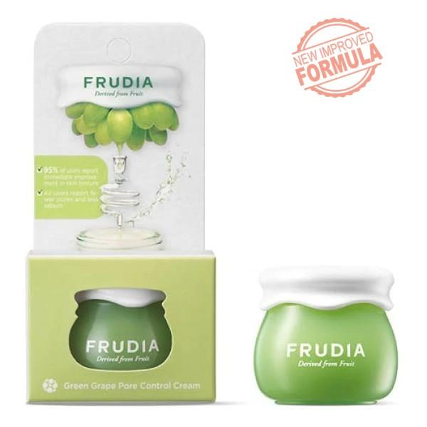 Travel Size Green Grape Pore Control Cream Frudia Creme Viso