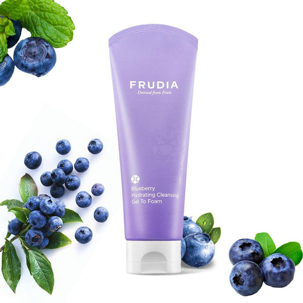 Blueberry Hydrating Cleansing Gel To Foam Frudia Detergenti & Struccanti