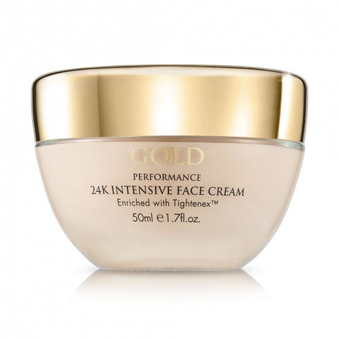 Gold Performance 24 K Intensive Face Cream Aqua Mineral