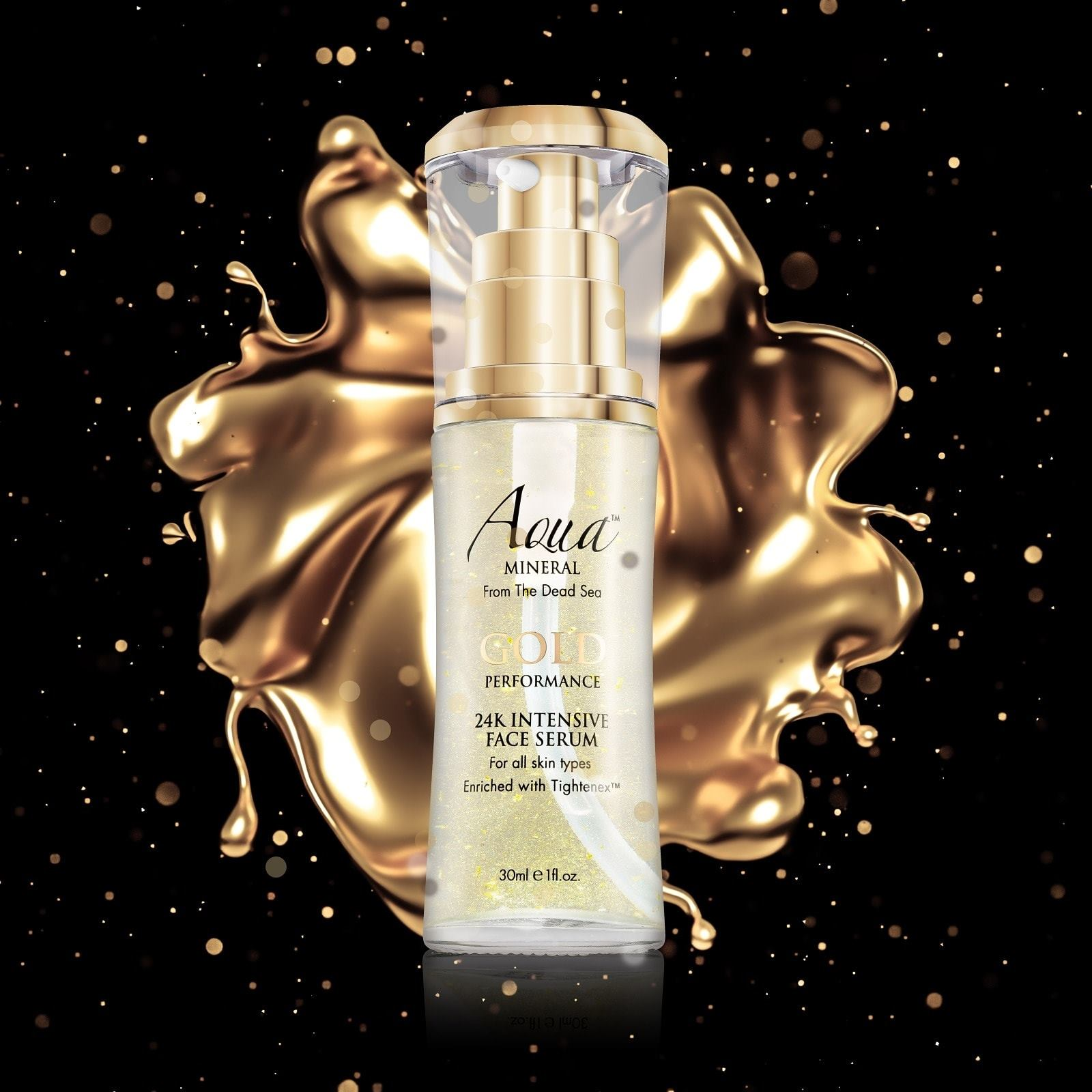 Gold Performance 24 K Intensive Face Serum Aqua Mineral