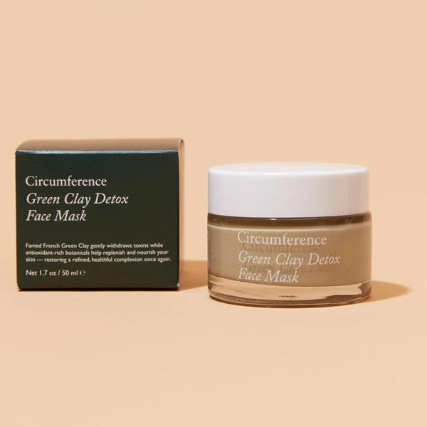 Green Clay Detox Face Mask Circumference