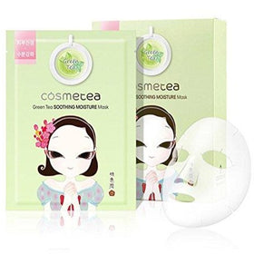 Green Tea Soothing Moisture Mask Cosmetea
