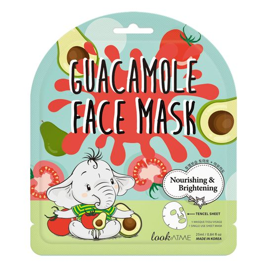 Guacamole Face Mask Nutriente e Illuminante Look at Me