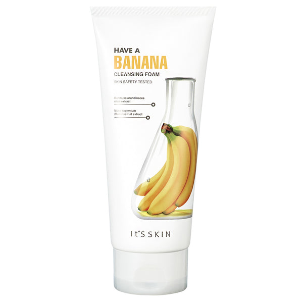 Have a Banana Cleansing Foam It's Skin