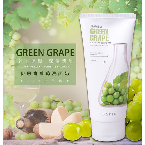 Have a Greengrape Cleansing Foam It's Skin