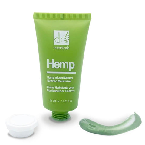 Maschera Viso Hemp Infused Natural Moisturizer Dr. Botanicals