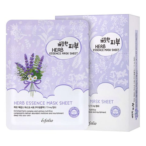 Herb Essence Mask Sheet Esfolio