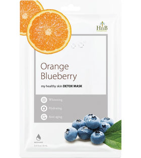Orange Blueberry Detox Mask Hnb Maschere Viso