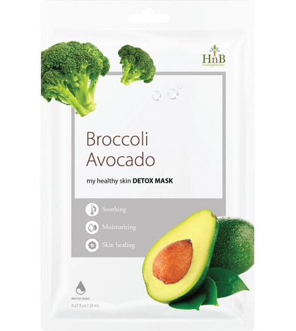 Broccoli E Avocado Detox Mask Hnb Maschere Viso