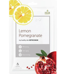 Lemon Pomegranate Detox Mask Hnb Maschere Viso