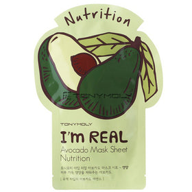 I'm Real Avocado Mask Nutriente Tonymoly