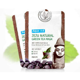 Jeju Natural Green Tea Mask Welcos