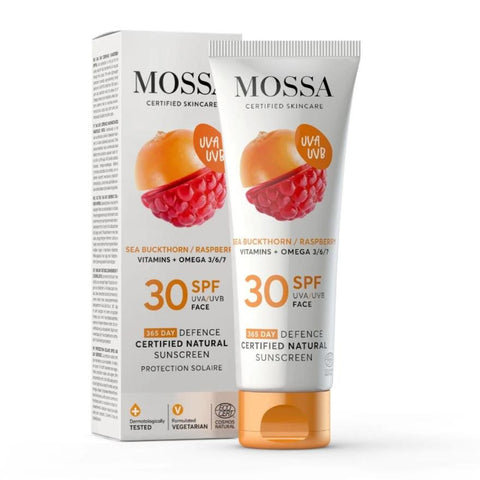 365 DEFENCE Certified Natural Sunscreen for Face Mossa
