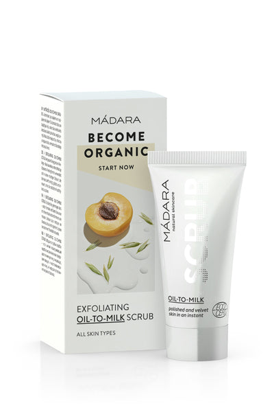Scrub Viso Oil-To-Milk Madara Mini Taglia
