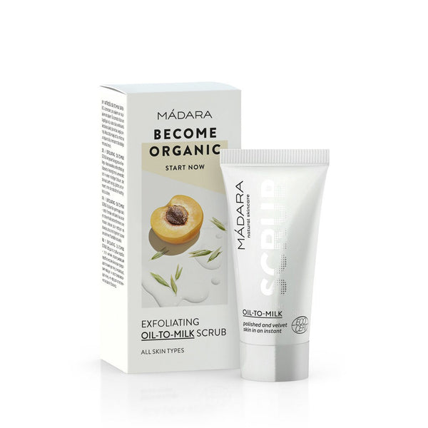 Scrub Viso Oil-To-Milk Madara 12 5 Ml Ed Esfolianti