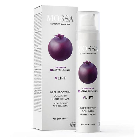 V-LIFT Deep Recovery Collagen Night Cream Mossa