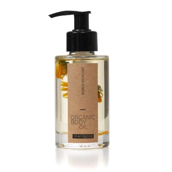 Organic Body Oil Marigold Munio Candela