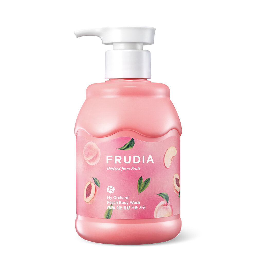 My Orchard Peach Body Wash Frudia