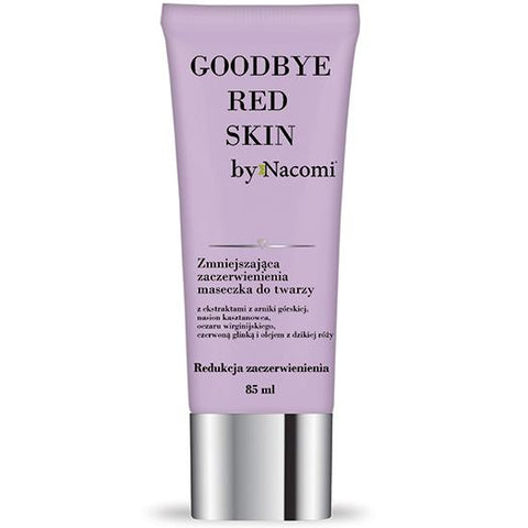 Maschera Viso Anti Arrossamenti Goodbye Red Skin Nacomi Maschere
