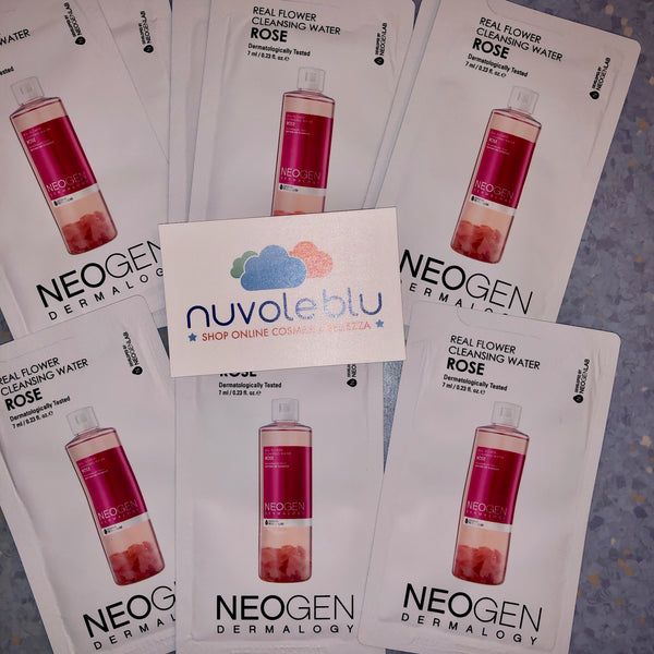 Real Flower Cleansing Water Rose Neogen (monodose)