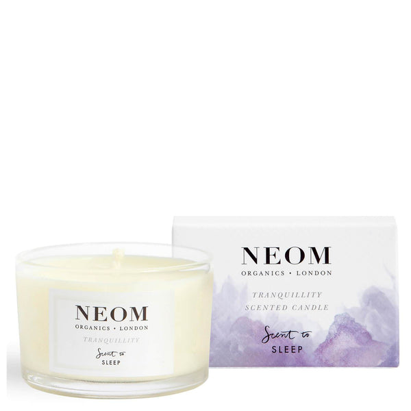 Neom Organics Tranquillity Scented Travel Candle Candele