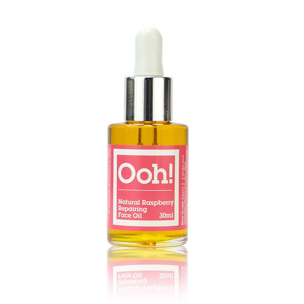 Oils of Heaven Natural Raspberry Repairing Face Oil